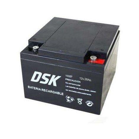 Bateria PLOMO AGM 12V/26A 175x166x125mm 7,92Kg DSK