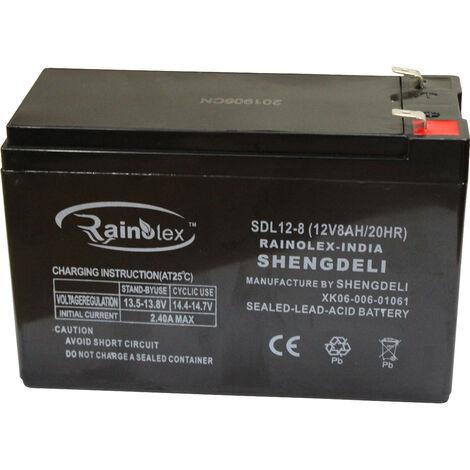 Bateria Pulverizador 12V 8AH - Bricoferr