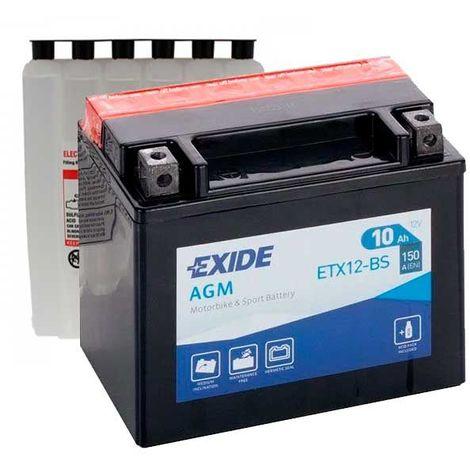 Batería YTX12-BS para moto EXIDE AGM