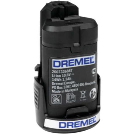 Baterías de ion-litio de 10.8 v (875) Dremel