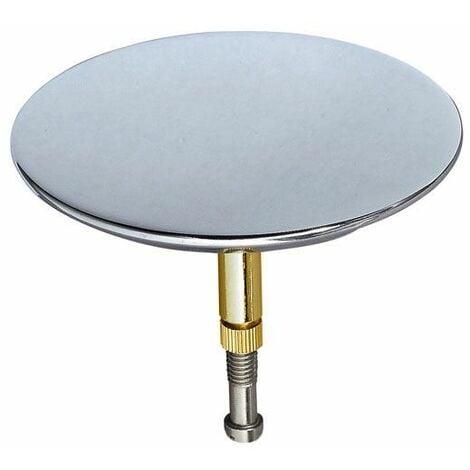 Bath Bathroom Drain Hole Sink Drainage Blanking Plug Cover Plate Disk Polished