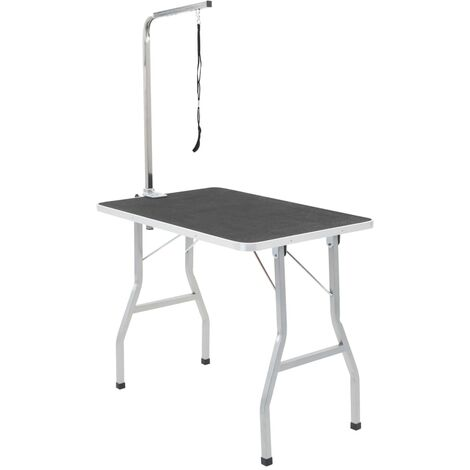 Bath Grooming Table for Dogs Cats Pets Adjustable 1 Loop
