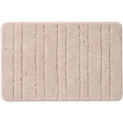 Bath Mat Bathroom Rug Carpet Beige