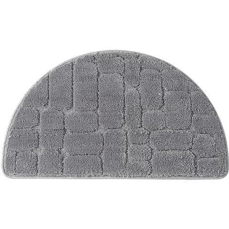 Bath Mat Bathroom Rug Carpet Grey