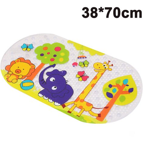 Bath mat cartoon bath mat bath and shower mat safety mat bath mat for tub shower accessories kids non slip standing mat