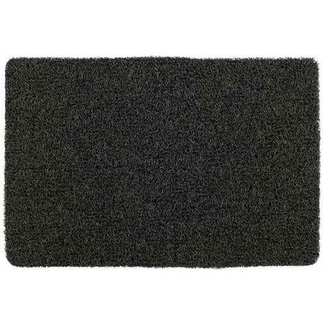 Bath mat indoor and outdoor Loop grey WENKO