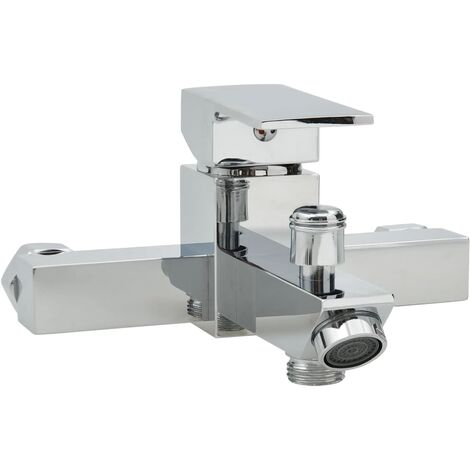 Bath Mixer with Thermostat Chrome