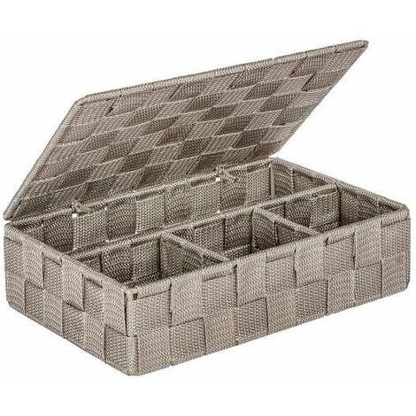 Bath Organizer Mod. Adria small lid mint WENKO