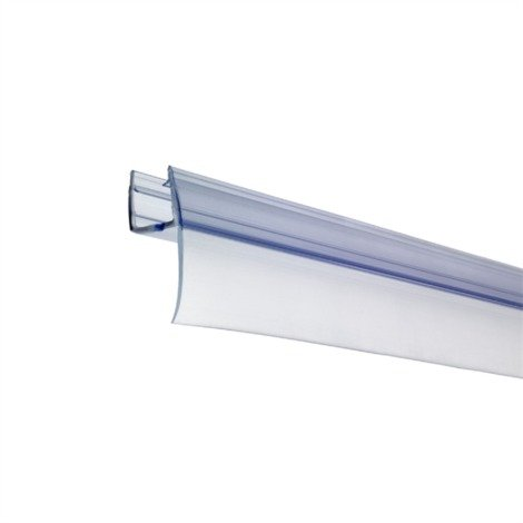 """main image of """"Bath Shower Screen Door Seal Strip For Glass Thickness 4mm to 6mm"""""""