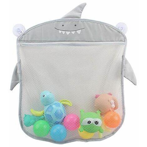 Bath toy storage, baby toy organizer, bathroom, bathtub toy hanging net