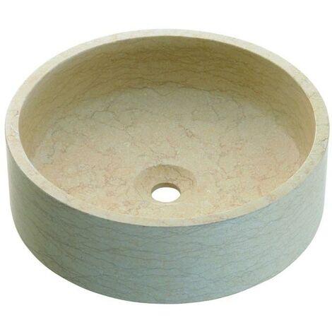 BATHCO 00303 BALI Lavabo Piedra Beige