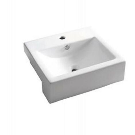 BATHCO 0045 MILAN Lavabo rectangular semi-encastre