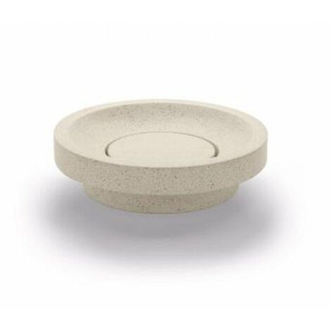 BATHCO 08033 SUANCES Lavabo TERRAZO Circular Beige