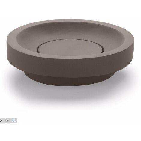 BATHCO 08034 SUANCES Lavabo CEMENTO Circular