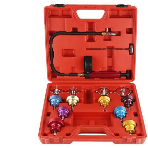 BATHRINS®14 pièces Testeur de système de refroidissement pour détection de fuite dans le réservoir d'eau