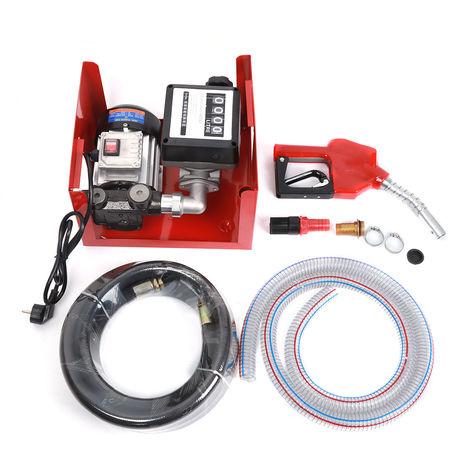 BATHRINS®40 L/min Pompe Diesel Auto-Amorçante Diesel-fuel Pompe à Huile Electrique Essence à Amorçage Transfert de Extracteur 240V 375W