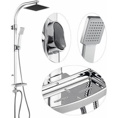 """main image of """"BATHRINS®Colonna doccia,set di rubinetteria doccia colonna doccia, con doccetta,sistema doccia soffione doccia in alluminio,20 * 47 * 106 cm"""""""