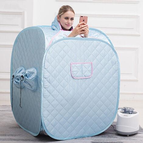 BATHRINS®SPA Sauna Portable\Cabine de sauna 2.5L pour 2 personnes Bleu
