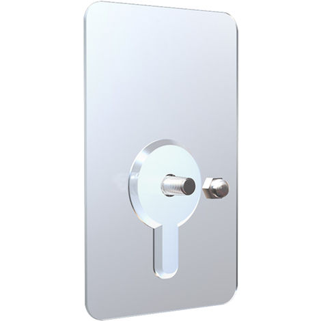 Bathroom Adhesive Screw Wall Mount No Drilling Hook Screws 12mm
