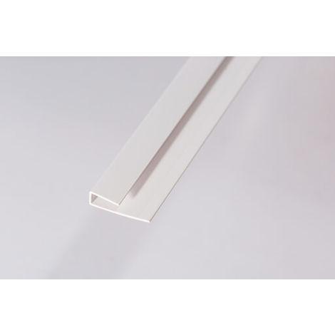 Cool Bathroom And Kitchen Cladding Aqua Pvc Panel Starter Trim U Channel For Wall Ceiling 2700Mm White Download Free Architecture Designs Terchretrmadebymaigaardcom