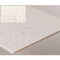 Bathroom and Kitchen Cladding Aqua250 PVC Panel - 250mm x 2700mm x 5mm White Sparkle - Pack of 4