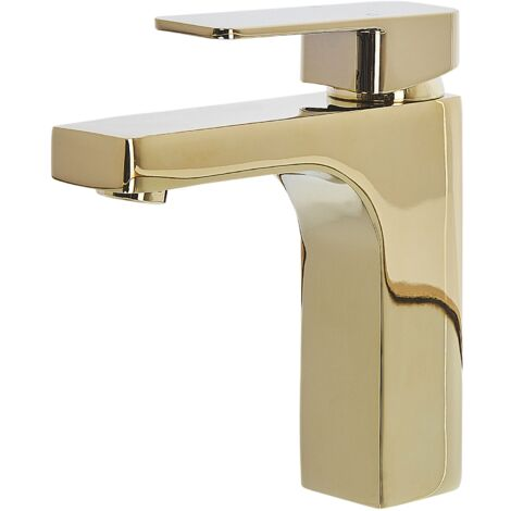 Bathroom Basin Tap Gold IRUPU