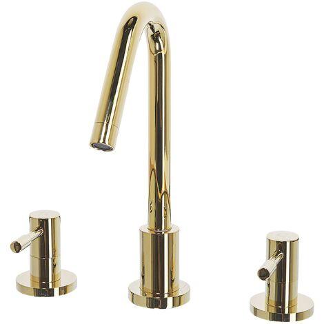 Bathroom Basin Tap Gold KALAMBO