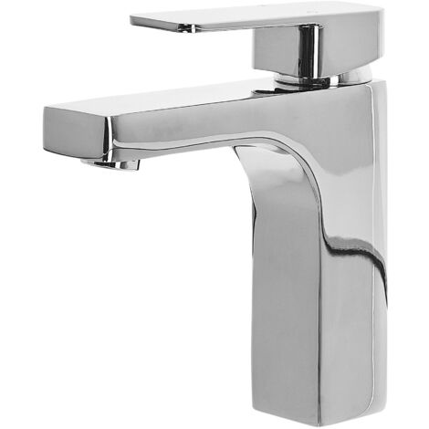 Bathroom Basin Tap Silver IRUPU