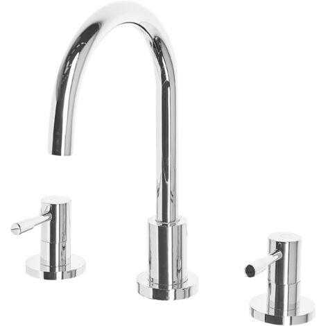 Bathroom Basin Tap Silver SIPI