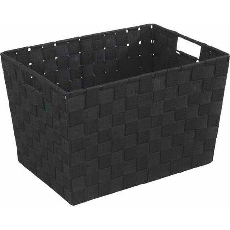 Bathroom basket Mod. Adria M, grey WENKO