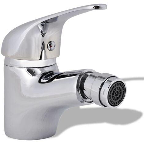 "main image of ""Bathroom Bidet Mixer Tap Chrome - Silver"""
