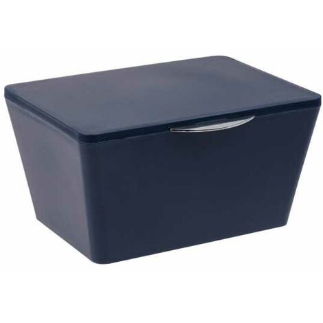 Bathroom box with lid Mod. Brasil d.blue WENKO