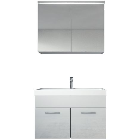 Bathroom cabinet Paso 02 80cm basin