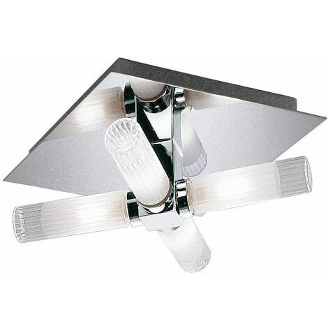"""main image of """"Bathroom ceiling light chrome IP44 4 Bulbs"""""""