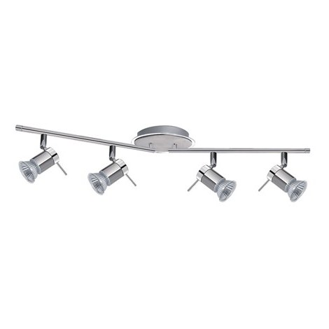 Bathroom Ceiling Spot Bar With 4 Adjustable Heads by Washington Lighting