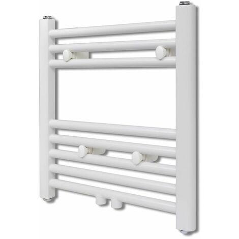 Bathroom Central Heating Towel Rail Radiator Straight 480 x 480 mm QAH03731