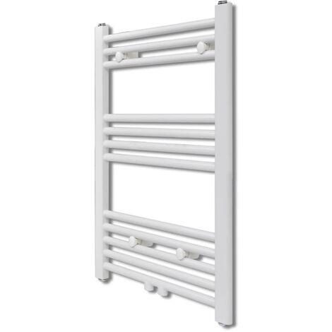 Bathroom Central Heating Towel Rail Radiator Straight 500 x 764 mm