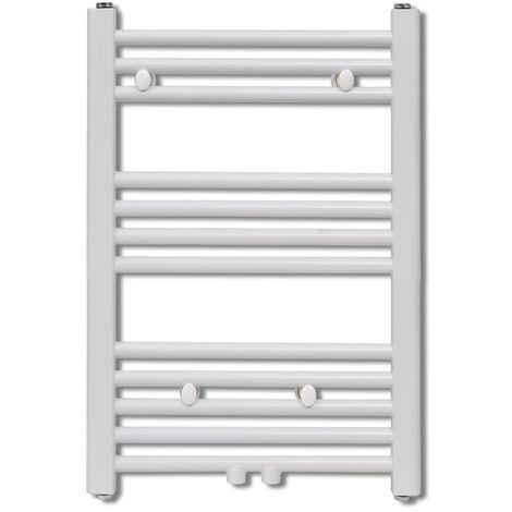 Bathroom Central Heating Towel Rail Radiator Straight 500 x 764 mm QAH03732