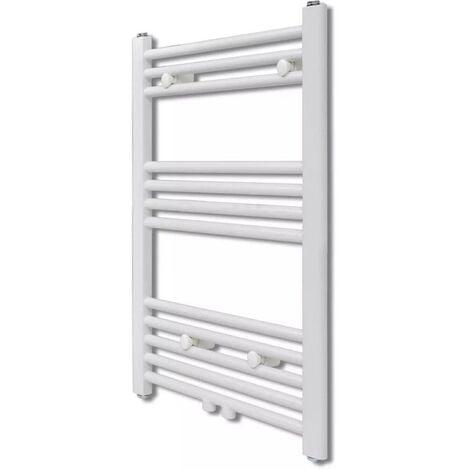 Bathroom Central Heating Towel Rail Radiator Straight 500 x 764 mm VD03732