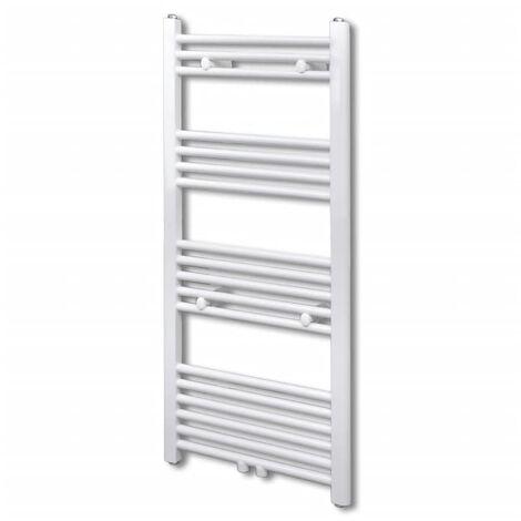 Bathroom Central Heating Towel Rail Radiator Straight 600 x 1160 mm