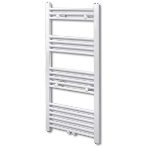 Bathroom Central Heating Towel Rail Radiator Straight 600 x 1160 mm VD03734