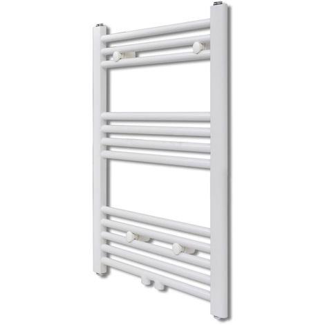 Bathroom Central Heating Towel Rail Radiator Straight 600 x 764 mm