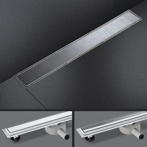 Bathroom Floor Shower Drain-FR02S Stainless Steel 100cm