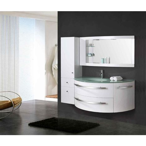 "BATHROOM FURNITURE Model ""AMBASSADOR"" Cabinet 120 x 56 x h 56 Side Cabinet 30 x 35 x h 140"