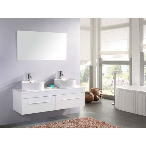 "BATHROOM FURNITURE Model ""WHITE CARDELLINO"" 150 cm"