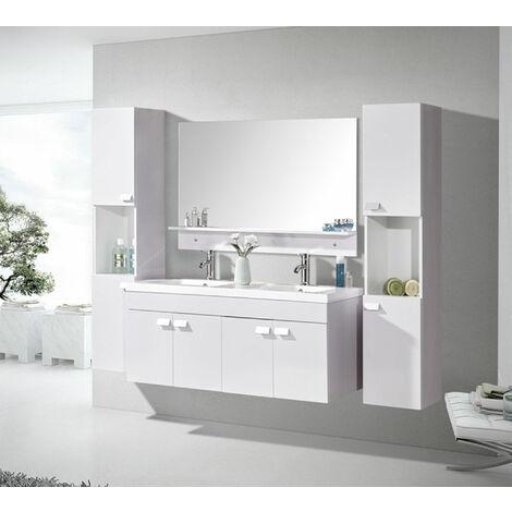 "BATHROOM FURNITURE Model ""WHITE ELEGANCE'"" Cabinet 120 x 46 x h 50 cm"