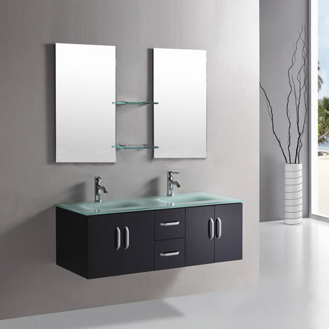 "BATHROOM FURNITURE Model ""WHITE ICE"""