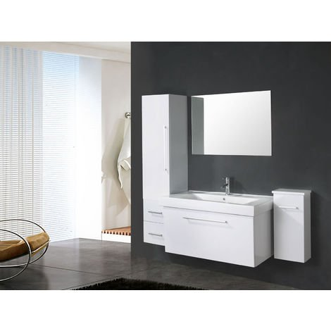 "BATHROOM FURNITURE Model ""WHITE LONDON"" 100 cm"