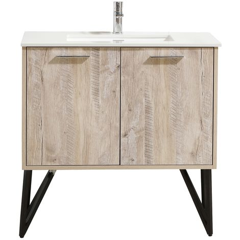 Bathroom Furniture Set Tulum 90 Cm