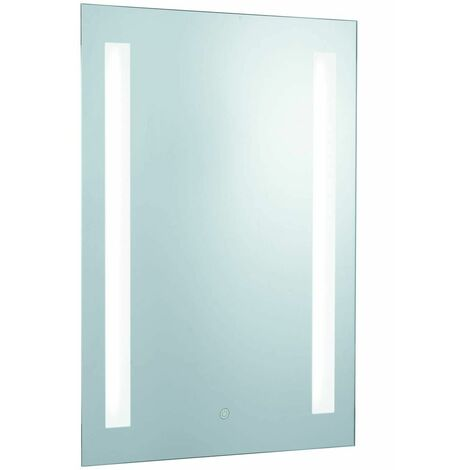 Bathroom light mirror, mirror glass, shaver socket